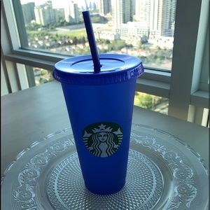 Starbucks color changing cup 2020/blue